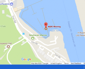 Where is Amelie? – map of mooring here……….