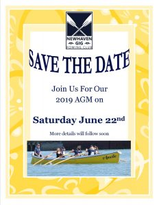 NGRC 2019 AGM – Save the Date